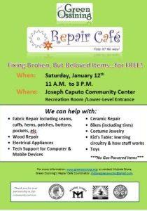 Repair Cafe Jan 12 2019